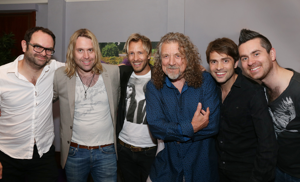 RPJ Band and Robert Plant