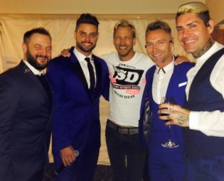 Rick Parfitt Jnr and Boyzone