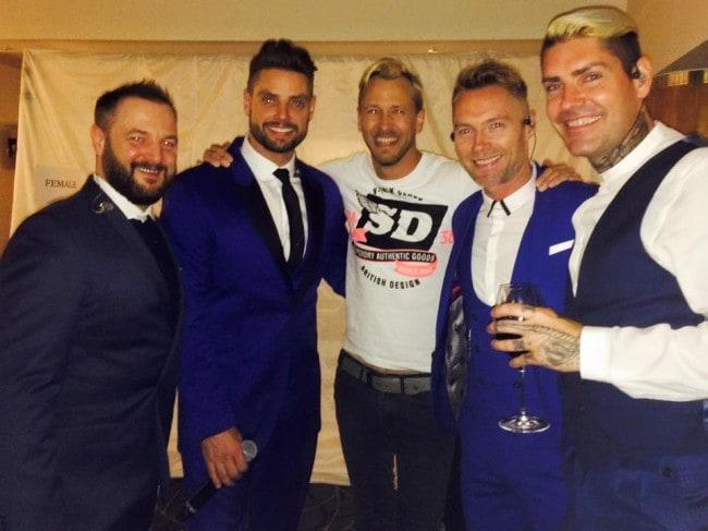 Rick Parfitt Jnr and Boyzone